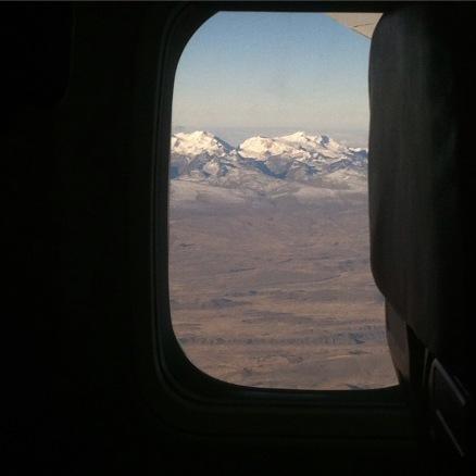 Les Andes et ses glaciers