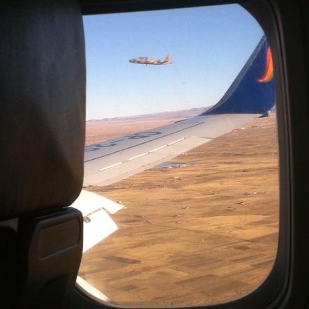 escorte militaire aérienne